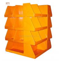 China POP Corrugated Cardboard Stand Display , Recycled Shop Promotion Display on sale