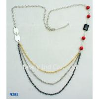 Best OEM / ODM Jewelry Display Trays Chain Mixed Metal Necklace for Anniversary, Engagement wholesale