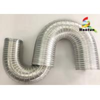 China HVAC System Semi Rigid Aluminum Flexible Duct Pipe Air Conditioning Duct on sale