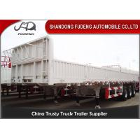 Best 40 Tons High Strength Steel Livestock Trailers Custom Height With LED Light wholesale