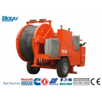 China TY2x80 Overhead Line Stringing Equipment Cummins Engine Hydraulic Tensioner for sale