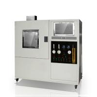 Quality Solid Material Textile Testing Instruments Optical 170Kpa Smoke Density Meter for sale