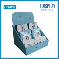Best greeting cards cardboard counter display for Christmas wholesale