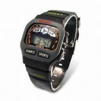Quality Men's Basic LCD Watch, Suitable for Promotional Item for sale