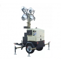 Quality IP23 4*1000W Mobile Light Tower With Kubota Engine for sale