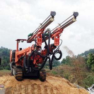 China Full Hydraulic Jumbo Drill , Hydraulic Twin Boom Jumbo Drilling Machine on sale