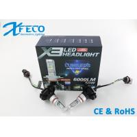 China  LED Headlamp Bulb HB3 9005 Vehicle Headlight Replacement CE / RoHs E-Mark on sale