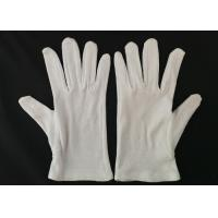 Quality Inspection Protective Cotton Work Gloves Heavy Weight Men's Glove Liner for sale