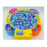 Quality Funny Plastic Children's Play Toys Fishing Game Battery Operated With Music for sale