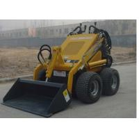 China Rigid Frame Compact Skid Steer Loader , 20 HP Rated Power Small Skid Loader on sale
