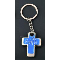 China wholesale religious cross keychains custom personalized on sale