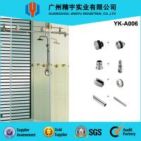 China Guangzhou Jingyu stainless steel glass sliding door, frameless automatic sliding glass doors on sale