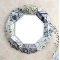 Quality Decorative Bedroom Wall Mirrors , Beveled Glass Vanity Mirror OEM Service for sale