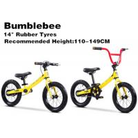 "Quality 14""  High Quality  High Carbon Steel 2in1 Kids Balance Bike With Pedal BMX Bicycle for 2-12 Years Yellow for sale"