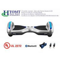 Best 8 Inch Indoors Smart Balance Hoverboard with LED Lights New Modle White Color wholesale
