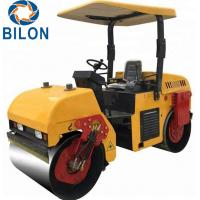 Quality High Efficiency Vibratory Road Roller 3 Ton 21KW Hydraulic Road Roller for sale