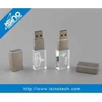 China 3D Laser Engrave USB flash Drive Crystal 32GB on sale