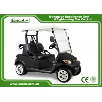 Quality EXCAR Black Seat EXCAR Golf Cars Unique USA Key For 2 Person/Trojan Battery for sale