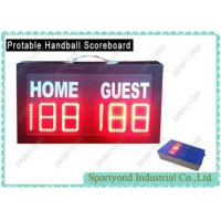 China Mini Portable Electronic Scoreboard With Wireless Console / Electronic Scoring Board on sale
