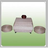 Best straw chair table wholesale