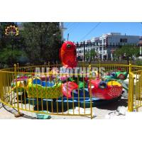 Quality Rotating Fish Kids Amusement Ride Fiberglass And Steel Material 6 M Size for sale