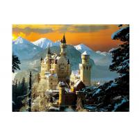 China Stock Neuschwanstein Castle 3D Lenticular Living Room Painting Picture PET Printing on sale