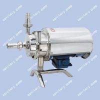 China Stainless steel sanitary pump, Food sanitary pump, milk pump, fast joint, centrifugal pump on sale