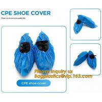Quality PE material blue shoe cover cheaper disposable plastic shoe cover,Low Price plastic shoe cover medical,bagease bagplasti for sale
