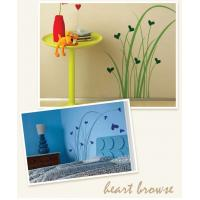 Quality Designer Large Removable Wall Flower Stickers XWJ-039 / Wall Sticker Art for sale