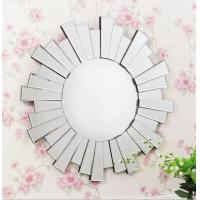 Quality Indoor Bevelled Glass Venetian Mirror , Art Deco Round Venetian Glass Mirrors for sale