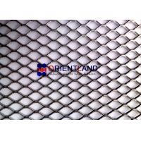 Quality Durable Expanded Metal Wire Mesh , Expanded Metal Screen Slip Resistant Surface for sale