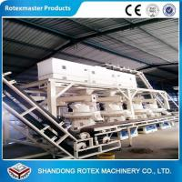 Quality Wheat Straw Rice Husk Wood Pellet Production Line With 12 Months Warranty for sale