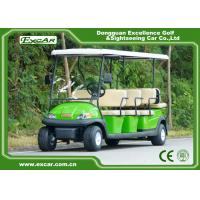 Quality EXCAR 11 seater trojan battery Electric golf cart sightseeing car china mini bus for sale
