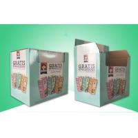 Buy cheap Biodegradable & Recycable Corrugated Paper Packaging Boxes / Cardboard Display Box For Pre-filling Tincans from wholesalers