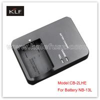 Quality Canon camera charger CB-2LHE for Canon battery NB-13L for sale