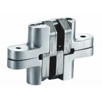 Quality Spring Closing Stainless Steel Concealed Hinges , Invisible Hinges For Interior Doors for sale