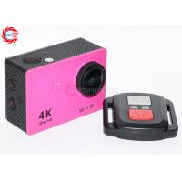 Quality CE / ROHS FHD Action Camera 1080p 60fps , Wide Angle Sports Camera for sale