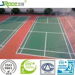 Quality Excellent Cushion Effection Spu Badminton Court Floor Covering for sale