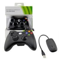 Quality Two AA Batteries XBOX 360 Game Controller 2.4GHz Wireless Bluetooth Gamepad for sale