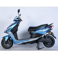 Quality Blue Color Electric Moped Scooter , Road Legal Electric Scooter Moped For Adults  for sale