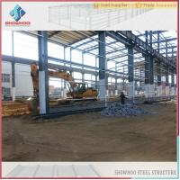 Quality SHOWHOO Prefabricated Space Frame Metal Shed Build Steel Structure Factory Building for sale
