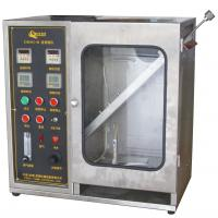 Quality Textile Burning Behavior Testing Equipment / 45 Degrees Damaged Area and Ignition Times Test Machine for sale