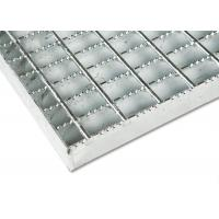 Quality Anti Rust Stainless Steel Bar Grating Optional Serrated / Algrip Surfaces for sale
