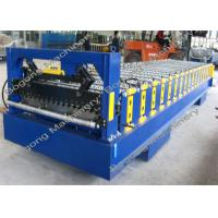 Buy cheap Metal Corrugated Roof Panel Roll Forming Machine 8 - 15m / Min Forming Speed from wholesalers