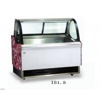 China 1500mm Ice Cream Showcase Freezer Tempered Glass With Transparent Conducting Films on sale
