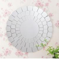 Quality Home Decorative Glass Venetian Mirror For Bathroom 610*610*15mm Size for sale