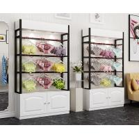 China Colorful Underwear Clothing Display Racks With Cabinet 1200*400*2000mm on sale