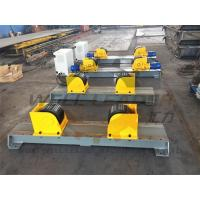 Quality Carry 5 Ton Turning Rolls Welding Rotator For 2300mm Diameter Self Centering for sale