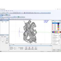 Quality EZCAD 3D Powerful Laser Controller Software For Laser Engraving Machine , CE Approved for sale