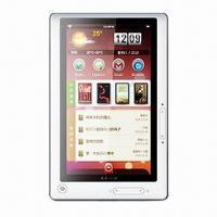China 7-inch Wi-Fi E-book Reader with Touchscreen, microSD/TF Card Slot, Built-in Rechargeable Li-battery on sale